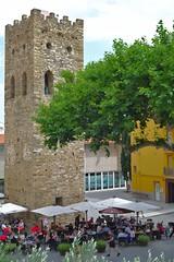 Llançà - Old Town (dvanzuijlekom) Tags: españa tower june spain torre toren catalonia girona catalunya cataluña gerona spanje 2014 altempordà llançà catalonië canonef50mmf18mkii canoneos5dmarkiii
