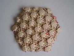 Woven Rings (Monika Hankova) Tags: paper origami cooper tessellation