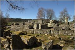 Gallo-Roman site 'Les Cars' (catb -) Tags: france cars archaeology stone ruins limousin galloroman
