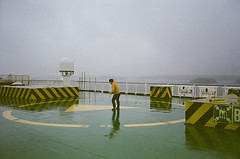 (arthur shuraev) Tags: trip travel winter people film ferry january olympus balticsea line viking mjuii 2012