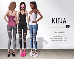KITJA - Gwen Jeans & Top (ᴋɪᴛᴊᴀ) Tags: four chemistry chapter entwined reign kitja lelutka