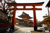 Fushimi Inari-Taisha 伏見稲荷大社 (Rodrigo A. Santoveña) Tags: voyage trip travel viaje red travelling japan eos gate shrine inari traveller route 日本 nippon shinto torii sanctuary nihon fushimiinari santuario fushimi japón fushimiinaritaisha kyōto 京都市 sintoismo 伏見区 sintoista eos600d
