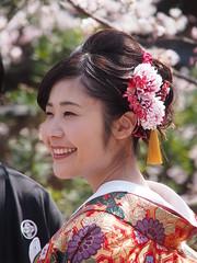 Kyoto 2015 (hunbille) Tags: street wedding japan cherry bride kyoto married blossom blossoms sakura gion dori hanami newlyweds shirakawa higashiyama higashiyamadistrict shirakawadori