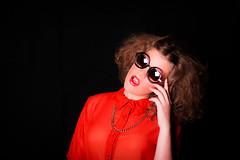 (Isai Alvarado) Tags: light portrait woman cinema blur cute film girl fashion mouth hair movie studio model nikon focus dof hand arm bokeh fingers stock makeup 85mm cine shades lips lovely perla cinematic softlight d800