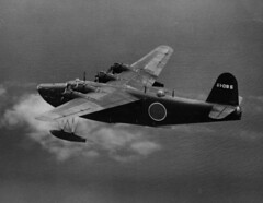 """Kawanishi H8K flying boat • <a style=""""font-size:0.8em;"""" href=""""http://www.flickr.com/photos/81723459@N04/17172313716/"""" target=""""_blank"""">View on Flickr</a>"""
