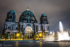 Proyecto 52 (17/52) (J.Loro) Tags: viaje berlin night germany cathedral catedral nocturna alemania 2015 52weeks proyecto52 sonyrx100m3 semana1752