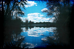 From Here To Eternity (Groovyal) Tags: lake art love nature water clouds river photography view image pinelands mullica fromheretoeternity groovyal