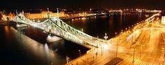 BP_15_04_29_panorama (buzas.nandor) Tags: bridge panorama night river lights sony budapest 1855 dslr duna a390