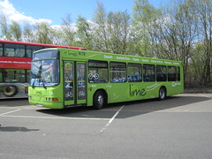 R854PRG@MetroCentre2015 (zipdiskdude) Tags: lime metrocentre 2015 gonortheast busrally 4854 r854prg northeastbuspreservationtrust nebuses