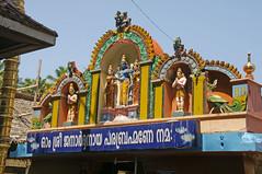 Janardhana_temple_Varkala_5694 (Manohar_Auroville) Tags: sea cliff india beach beauty temple waves ceremony marriage kerala varkala hindu luigi fedele manohar janardhana