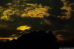 Dramatic Sunset (rehansQazi) Tags: pakistan sunset sky orange yellow nikon dramatic nikkor lahore d5200 rehanqazi