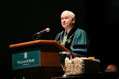 Chancellor Robert M. Gates '65 (William & Mary Photos) Tags: williamsburg williamandmary commencement williammary wmgrad