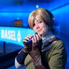 Neko Yona Cosplay - Link (Pixelkeeper) Tags: cosplay link legendofzelda fantasybasel nekoyonacosplay