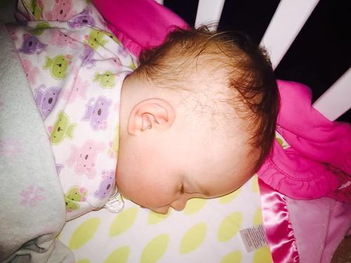 Sleepin' hard #imsick #dangearinfection #day316