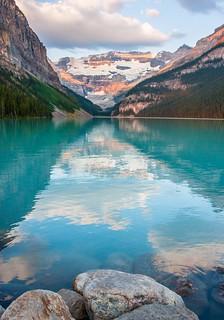 ( Explored ) Lake Louise - Sunrise Reflections