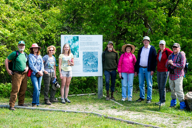 Hoosier National Forest - Pioneer Mothers Memorial Forest - Sierra Club Hike - May 7, 2016