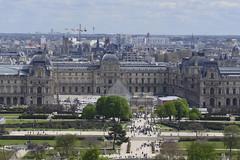 2016.04.14.031 PARIS - La grande roue,  le Louvre (alainmichot93) Tags: paris france seine architecture ledefrance jardin toit arbre parc mange palaisdulouvre placedelaconcorde granderoue 2016 parcdestuileries