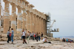 Παρθενώνας Parthenon (Brian Aslak) Tags: europe hellas landmark athens tourists parthenon greece acropolis ελλάδα ακρόπολη αθήνα παρθενώνασ