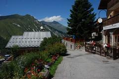 arrive au jardin de josphine (lejardindejosephine) Tags: montagne alpes restaurant lesmenuires les3vallees saintmartindebelleville savoiemontblanc