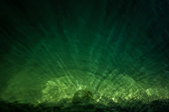 The Mystery (Walter Quirtmair) Tags: light lake abstract reflection green water austria rays wolfgangsee 500px ifttt quirtmair
