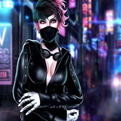 Hex (MiszKeiKittyBabii Stormcrow) Tags: life city photoshop photography punk neon gothic second studios picturesque cyber cyberpunk stormcrow kross ophie miszkeikittybabii