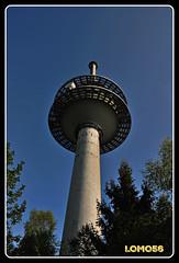 Fernmeldeturm Kahlheid (Deutschland) (LOMO56) Tags: towers fernsehturm tours trme torri torres funktrme sendemasten sendetrme towerstorritorrestourstrme fernmeldetrme gittersendetrme fernmeldeturmkahlheid