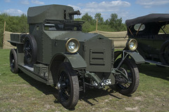 BF 4554  Rolls Ryce Armoured Car owned by Grosvenor Estates (wheelsnwings2007/Mike) Tags: car by tracks railway owned trust rolls staffordshire bf moseley estates trenches grosvenor armoured 2016 ryce 4554 apedale
