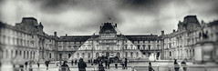 And the Pyramide disapeared...poof! BW (Mr MAMAZ) Tags: paris louvre carousel jr pyramidedulouvre