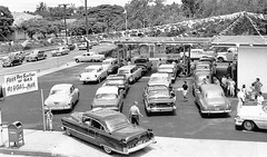 Honolulu, Hawaii, 1958 (cruisemagazine) Tags: old two lines station that for was see flying photo published do you opposite photos good no father away august here gas give just vehicles few reason terry be 1958 what even motor honolulu had these sell eastern took plenty could probably exact fuel recently rather opened the considering shortage  efficient considered a legitimately koenigs