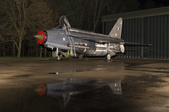 BAC Lightning F6 - 61 (NickJ 1972) Tags: night photo shoot photoshoot aviation ground nightshoot lightning lpg js proving bac 2016 f6 englishelectric britishaircraftcorporation bruntingthorpe xr728