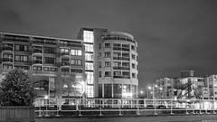 Noorderkade (Emil de Jong - Kijklens) Tags: alkkmaar blackandwhite zwart wit black white street straat noordhollands kanaal architecture architectuur