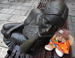 La bella Lola con Leoncia. Oviedo, Asturias, Espaa. (Caty V. mazarias antoranz) Tags: asturias oviedo botero catedraldeoviedo laregente montenaranco principadodeasturias labellalola turismoenoviedo