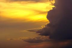 Ascending (rachFNQ) Tags: sunset sky sun skyline clouds skyscape evening glow dusk australia cloudporn cloudysky skyporn