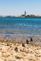 Isla Cristina desde la Punta del Moral (javigiles87) Tags: islacanela islacristina playa madera wood beach sur south andaluca ayamonte