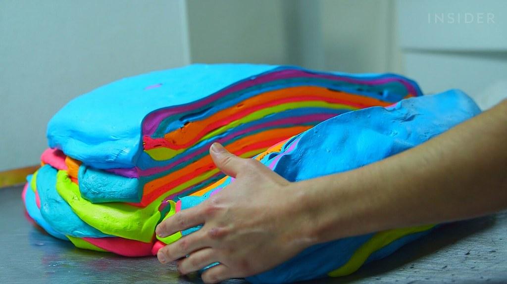 Rainbow Bagel 4