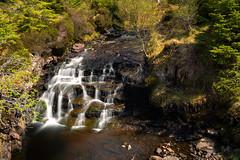 Rassay Mine Wide Waterfall (iDvL) Tags: trip water scotland waterfall woods mine wide longexp raasay