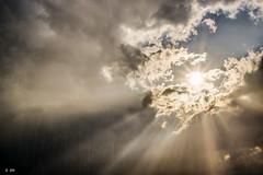 Eclaircie (Stphane Slo) Tags: france clouds landscape soleil agua eau pentax ciel thunderstorm nuages paysage orage ain claircie rayondesoleil et pentaxk3ii