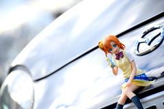 Mazda Roadster (André.32) Tags: cars car japan photography nb mazda roadster sportcar sportcars mazdaroadster itasha 痛車 lovelive μs ラブライブ! 高坂穂乃果 honokakōsaka 空想学園祭山梨青少年センター編 空想学園 山梨県立青少年センター
