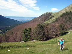 Above the tree line (markhorrell) Tags: walking lazio apennines montiernici