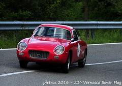 DSC_6608 - Lancia Appia Zagato - 1960 - Bardelli Fausto - CPAE (pietroz) Tags: silver photo foto photos flag historic fotos pietro storico zoccola 21 storiche vernasca pietroz