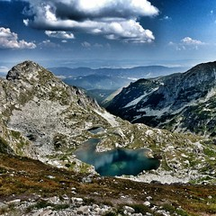 Rila (Pepaaya) Tags: summer lake nature view top rila bulgary backpackers hory bulharsko