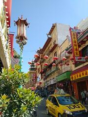Busy Street (incidencematrix) Tags: sanfrancisco california chinatown blackberry priv