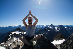Life long dream achieved (Andersson Hgholm Photography) Tags: world summer mountain snow mountains canon washington top explorer hike cascades summit traveling 1740mm