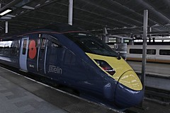 395015 (cosmostrainadventures) Tags: london stpancras stp southeastern javelin londonstpancras stpancrasinternational highspeed1 at300 londonstpancrasinternational class395 southeasternhighspeed 395015