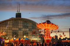 Carousel (Tomasz Jan) Tags: night chicago navypier carousel fun amusement merrygoround