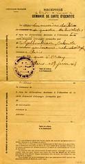 Pedido de documento de identidade para estrangeiros (Biblioteca de Arte-Fundao Calouste Gulbenkian) Tags: fundaocaloustegulbenkian caloustesarkisgulbenkian caloustegulbenkian invalides documentodeidentidade documento identidade paris frana 1918