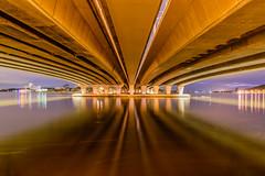 Narrows Bridge 2, Perth (stephenk1977) Tags: bridge night river swan nikon under australia wideangle perth western wa underneath narrows d3300