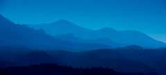 Ridge Blue Hour (jfusion61) Tags: blue panorama mountains forest landscape evening nikon san colorado smoke ridge national hour isabel chaffee d810 70200m leegraduatedfilter