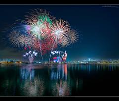 Emancipate (HakWee) Tags: singapore fireworks ndp ndprehearsal vertorama ndp2016