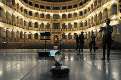 Asino vola backstage (lorenzog.) Tags: italy cinema set nikon bologna backstage 2014 d300 asinovola cinemaset teatrocomunalebologna